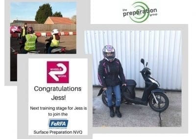Well done to our Trainee Operative Jess for Passing her CBT Test