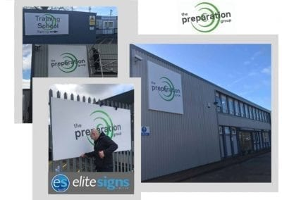 Rebrand & new signs at our Headquarters