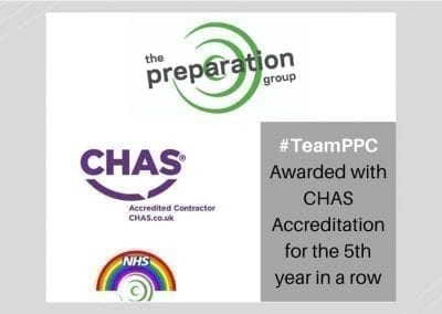 #TeamPPC CHAS Accredited
