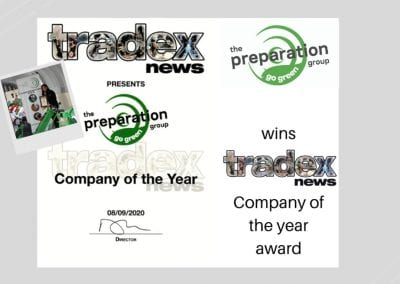Proud to be Company of the year