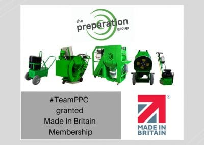 #TeamPPC granted Made in Britain membership
