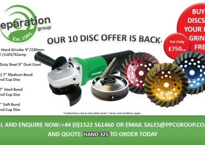 Our Ten Disc Offer Is Back