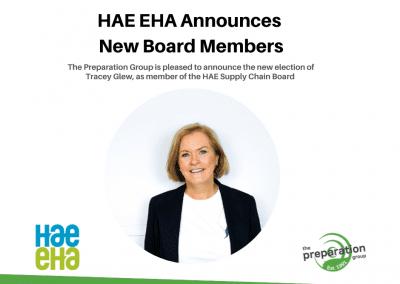 HAE EHA Announces New Board Members
